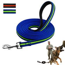 Heavy Duty Dog Lead Training Obedience Walking Nylon Rope Leads German Shepherd