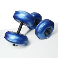 Water Filled Dumbbells Fitness Exercise Arm Muscle Home Small Shaping Portable