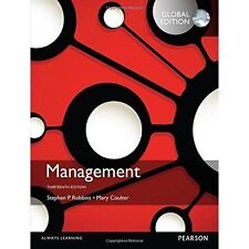 Management, Global Edition, Coulter, Mary A., Robbins, Stephen P., Good, Paperba
