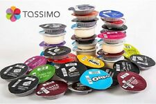Tassimo Starter Variety Pack - 22 T Discs Pods Sold Loose Coffee Tea & Chocolate