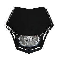 MASCHERINA PORTAFARO RACETECH V-FACE NERA (Black Headlight) - COD.R-MASKNR00008