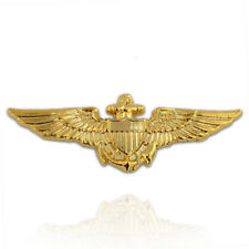 PinMart's Gold Plated US Navy / US Marine Corps Aviator Wing Military Lapel Pin