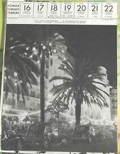 1957 Nice ALPES-MARITIMES La Promenade des Anglais la Nuit 4cv en premier Plan