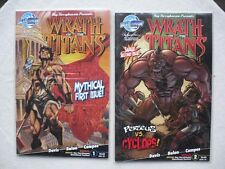 WRATH OF THE TITANS N° 1 A 4 RUN COMPLET VO NEUF / NEAR MINT / MINT
