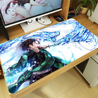 Anime Demon Slayer: Kimetsu no Yaiba Mouse Pad Kamado Tanjirou Keyboard Game Mat