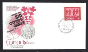 Canada   # 644  Kingswood Winter Sports Keep Fit Cover  New 1974 Unaddressed