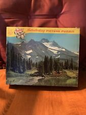 Tuco Interlocking Picture Puzzle With Wood Like Pieces Vintage Old