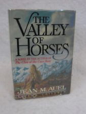 Jean M. Auel  THE VALLEY OF HORSES  Crown Publishers, New York  c. 1982  SIGNED!