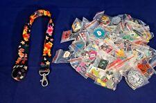 Disney World Pin Trading Lot Lanyard Starter Winnie the Pooh Piglet Blck 25 Pins