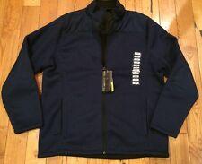 NWT Mens ZEROXPOSUR ZXBLK Performance Navy Jacket Coat Size XL X-Large $150