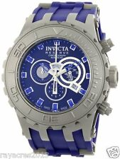 Invicta Men's 0802 Reserve Collection Subaqua Chronograph Blue Poly Watch