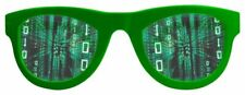 Party Glasses Matrix Lenses - Bad Taste or Motto Party - Fun Accessory - XXL