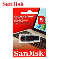 SanDisk 16GB Cruzer Blade USB 2.0 USB Flash Pen Thumb Drive SDCZ50