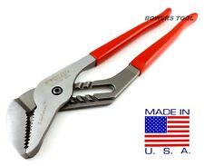 """Wilde 12-3/4"""" Tongue & Groove Pliers Lock Channel Flush Fastener USA Made G272"""