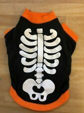Pet Halloween Skeleton Shirt NEW