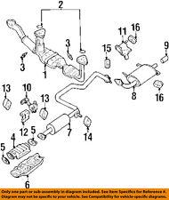 NISSAN OEM Exhaust-Front Pipe Gasket 2069138U00