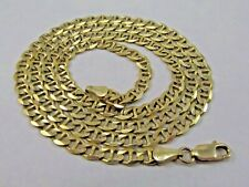 """14K Yellow Gold Gucci/Mariner Link Necklace 25"""" long SALE-SAVE 1900. #1088"""