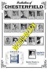CHESTERFIELD - 1920's PINNACE CARDS TEAM POSTER
