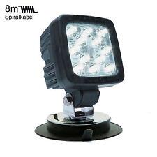 LED-MARTIN® 50W Arbeitsscheinwerfer mit Magnetfuß - 8m Spiralkabel - europäische