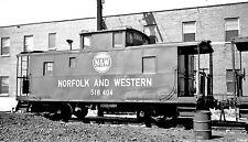 Norfolk & Western (N&W) #518414 Black & White Print