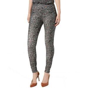 MICHAEL KORS NEW Women's Floral-print Pull-on Leggings TEDO