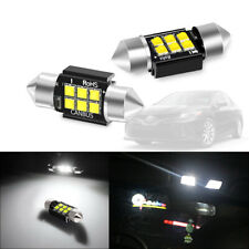 2pcs 31MM DE3175 LED Interior Dome Ceiling Read Light Bulbs For Honda Nissan etc