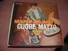 """MARIO ZELINOTTI SANREMO'67 """" CUORE MATTO """"  ITALY'67"""