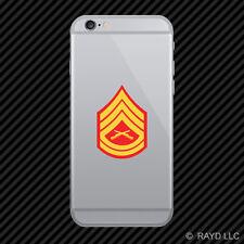 E-7 Gunnery Sergeant Insignia Cell Phone Sticker Mobile usmc marine corps
