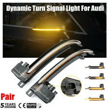 Dynamic LED Turn Signal Light Mirror Indicator For Audi A8 A6 A3 S3 A4 S4 A5 us