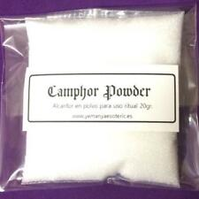 PODWER CAMPHOR ☽ ○ ☾  ALCANFOR EN POLVO 20gr.