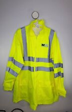 Foresterware Waste Management Work Reflective Protect Rain Gear Jacket Size L