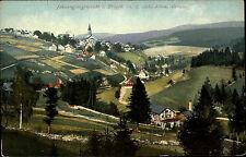 Johanngeorgenstadt Sachsen Erzgebirge ~1910 Panorama Landschaft Stadt Häuser Tal