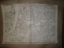London South mapSheet 1863 Dispatch Atlas E.Weller Antique Vintage Framed 40more
