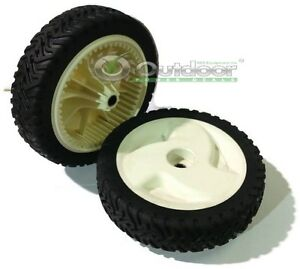 """Wheels for Front drive 22"""" Recycler Lawnmower 8"""" 105-1815 (Set of 2)"""