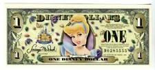 DISNEY DOLLARS, 2005D, UNCIRCULATED, THE 17TH YEAR, CINDERELLA