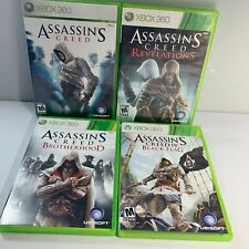 Assassins Creed Black Flag Revelations Brotherhood (Xbox 360 Game Lot) - Tested