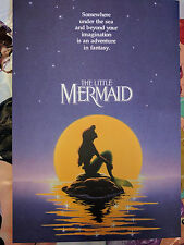 D23 Expo Disney Little Mermaid Ariel Commemorative Lithograph 2017