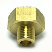 """1/4"""" Male x 1/2"""" Female Thicken Brass Thread Adapter Connector Pipe Fitting"""