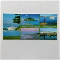 Mount Maunganui New Zealand 5 Views Panorama Postcard (P401)