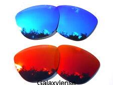 Galassia Lenti Di Ricambio Per Oakley Frogskins rosso & blu Polarizzati 2 PAIA