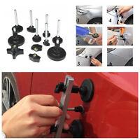 Black Aluminum &Plastic Car Body Dent Repair Tool Dent Puller Kit+Pulling Bridge