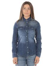 Camicia Liu Jo Shirt Donna Denim U18037D4289 77536