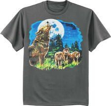 Wolf T-shirt Mens Graphic Tees Clothing Apparel Gear Gifts Wolves Nature