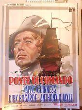 Ponte di Comando manifesto poster Quayle Guinness galeone H.M.S. Defiant 4F M