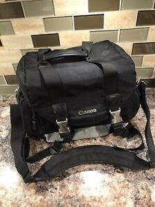 Canon 200DG Deluxe Gadget Bag Digital Camera Large Shoulder Carrying Case Black