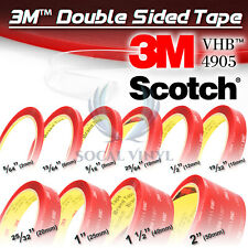 **10 Feet**Genuine 3M VHB #4905 Double-Sided Mounting Acrylic Foam Tape Adhesive