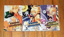 Complete 1-3 SCHOOL JUDGEMENT ~ Takashi Obata ~ Death Note ~ ENGLISH Manga Anime