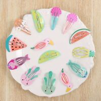 2/3/6 Pcs/set Accessories Watermelon Mermaid BB Hair Clips Set Kids Hairpins