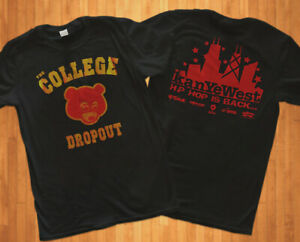 Kanye West The College Dropout Album Promo Tee T-Shirt Brand NEW