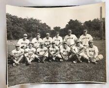 1960's Land O Lakes Wisconsin Amateur League Baseball Team Photo Menomonee Falls